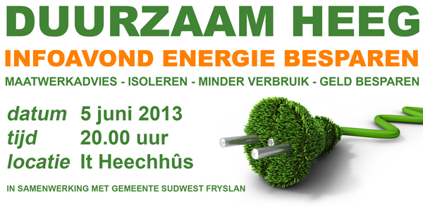 infoavond energie besparen
