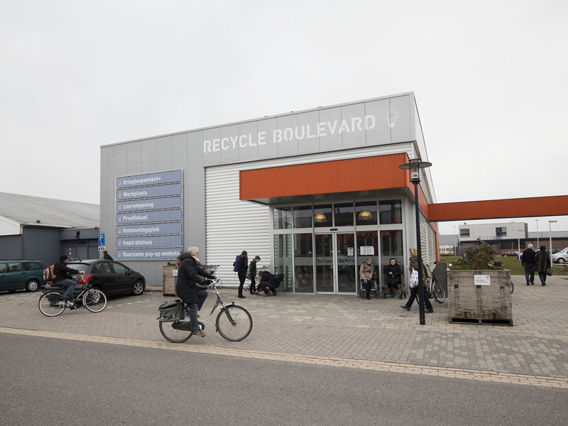 Recycle Boulevard Leeuwarden